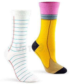 Ashi-dashi-socks-notebook-pencil
